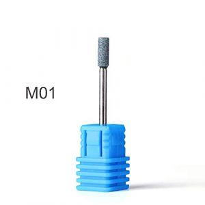 1 pcs Nail Fraise Polissage Manucure Électrique Forets Silicone Meulage Rotatif Bavure Fichier Outil Appareil Appareil JI065 M01 (QSKEU STORE, neuf)