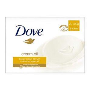 3x Dove Savon–Crème d'huile d'argan–2x 100g (IwonaTEC, neuf)