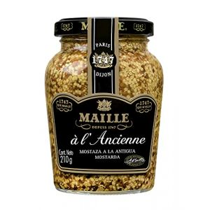 200ml moutarde à l'ancienne de style Maille Dijon (GS - General Shipping, neuf)