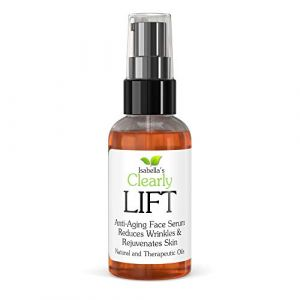 Isabella's Clearly LIFT, Youth Serum w/Rosehip Seed Oil, Avocado, Wheat Germ. Anti Aging Facial Moisturizer, Repair Wrinkles, Fine Lines. Natural Organic packed with Vitamins C, E, Antioxidants. 2 Oz (Isabella's Clearly UK, neuf)