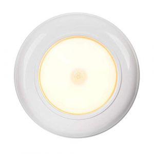 Lampe de plafond LED sans fil avec détecteur de mouvement 180 lumens Blanc (Yaeerservice, neuf)