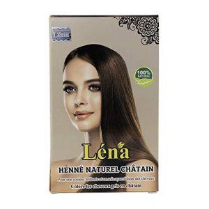 Henné Naturel Châtain pour Coloration et Soins Cheveux - 100 g (HENNAX, neuf)