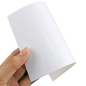Lot de 40 feuilles de papier photo brillant A4 130 g qualité premium jet d'encre compatible avec imprimantes Epson Brother HP Canon format A4 210 x 297 mm (aColoriStore, neuf)