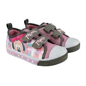Led Baskets Lumineuse Minnie, Baskets, Chaussures Lumineuse (28) (kidparadise, neuf)