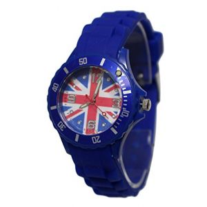 Montre Enfant Ado London Drapeau Anglais Union Jack Londres (MONTRE-STYLE, neuf)