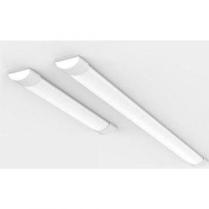 Réglette lumineuse LED 90cm 24W - Blanc Neutre 4000K - 5500K (SILAMP FR, neuf)