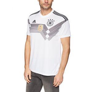 Adidas Maillot de Foot DFB WM 2018Maillot domicile, blanc/noir, S (11teamsports_1, neuf)