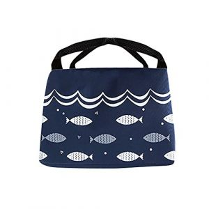 Sac Isotherme Repas Femme & Homme - Lunch Box Bag Isotherme Femme - Partable Cabas Thermique - Glaciere Souple Isotherme - Sac Repas Pour Enfant Travail PiqueNique (Serria, neuf)