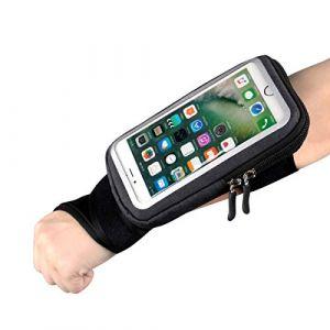 Sport Brassard avant-bras Band Vélo téléphone support de fixation, Yiluyiqi EU d'équitation Bracelet Pochette Sac avec clé ID Cash support pour vélo, Jogging, exercice, Sports pour smartphone (1617 EU, neuf)