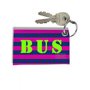 Porte-clés Carte de Bus, Etui Porte-clés Carte de Bus & Pass Navigo réf. 929 (bistrakoo, neuf)