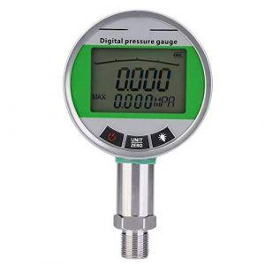 Manomètre 0-1.6MPA Digital, manomètre hydraulique de gaz/eau/huile en acier inoxydable avec connecteur M20 * 1,5 (Focket, neuf)