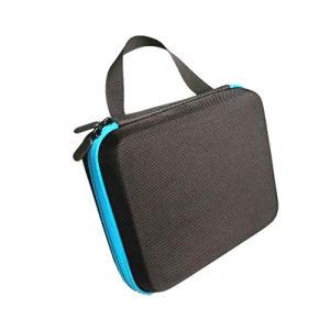 Guoyihua Huile essentielle-Boîte de rangement-Portable Sac de rangement pour 30bouteilles d'huile essentielle, bleu, 10 ml (YIHUA, neuf)
