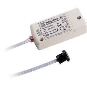 Capteur infrarouge switch- HoneyFly BHIRH-250A 100-240V détecteur de mouvement switch Interrupteur de lumière 5-10cm en dehors du cabinet un mouvement de la main Max.70W pour les LED (HoneyFly International, neuf)