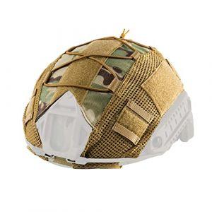 OneTigris Housse du Casque Tactique Couvre Camouflage pour Casque de Taille M/L (Camouflage) (1T Gear, neuf)