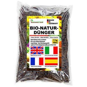 Humusziegel - Engrais organique de fumier de cheval granulés - engrais pour fleurs engrais naturel organique 7,5 kg (Humusziegel - votre spécialiste d'Allemagne, neuf)