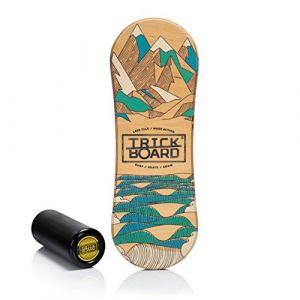 Trickboard classique toutes saisons Planche d'équilibre d'équilibre (letsboard_shop, neuf)