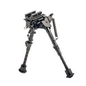 FOCUHUNTER Tactique Bipied 6-9 inches - Stud Pivotant Bipied Picatinny Ajustable pour Carabine à Air Comprimé et Fusil de Sniper avec Sling Mount (FOCUHUNTER, neuf)
