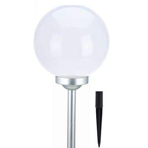 Boule lumineuse solaire à LED - Lumière blanche chaude - Idéale pour le jardin 30 Cm (Special-trends, neuf)