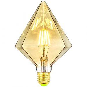 TIANFAN Ampoules Led Ampoule Vintage 4W Led Filament Edison Ampoule Spécialité Ampoule Décorative 220 / 240V E27 (Pyramide) (lightingdesigner, neuf)