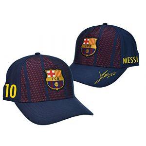 Fc Barcelone Casquette Enfant Barça - Lionel Messi - Collection Officielle (MISTERLOWCOST, neuf)