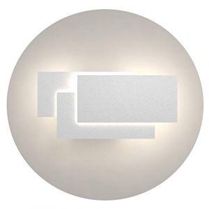 Klighten Appliques Murales Interieur LED Lampe 24W 1920LM Moderne Applique Murale pour Chambre Maison Couloir Salon Blanc naturel 4000K-4500K (Oppsun-EU, neuf)