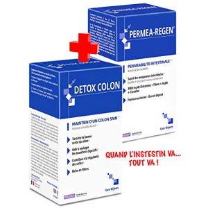 Ineldea PERMEA-REGEN et DETOX COLON - La solution face à l'hyperperméabilité intestinale et Pour un côlon sain et purifié (WEBPARA, neuf)