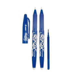 Pilot 2260BM2I Lot de 2 stylos Frixion Ball (Bleu) + 1 mine recharge Frixion (PAPETERIE DU COLLEGE, neuf)