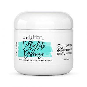 Body Merry Cellulite Defense Gel-Cream - Crème De Cellulite W Caféine + Retinol + Algues; Gel Raffermissant Et Tonifiant - Utiliser Solo Ou Comme Compagnon Parfait Pour Un Massage (BodyMerry, neuf)