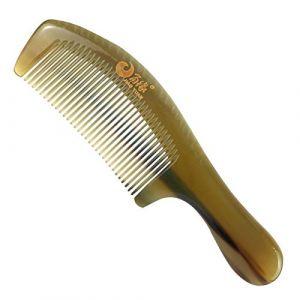 Peignes Peigne À Cheveux Peigne Corne De Yak Blanc Naturel Épaississant Soin Des Cheveux Sans Cadeau De Cadeau De Fête Des Mères Peigne De Massage Statique (kuing ai, neuf)