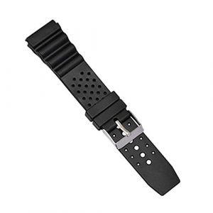 A0127 Bracelet Montre Bracelet Bracelet Montre en Silicone Plongée réglable Remplacer Le G-Shock Universel 12 mm 14 mm 18 mm 20 mm 22 mm (18 mm) (A0127, neuf)
