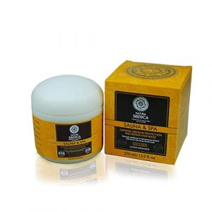 Natura Siberica Masque Capillaire Protection/Réparation Sibérien NS Sauna/Spa Ginseng 370 ml (Eco.Natural.Products, neuf)
