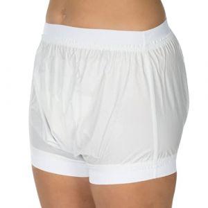 Suprima Incontinence Culotte PVC Schupf forme Art. 1-218-001(Unisexe)-Taille 44-Blanc (Vitego-Shop, neuf)