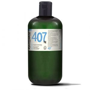 Naissance Savon de Castille Liquide BIO (n° 407), naturel et sans parfum - 1 litre - végan, sans SLS ni SLES (naissance ®, neuf)