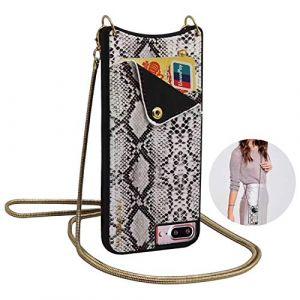 Qianyou, Sac bandoulière pour femme argent Silver iPhone 7 plus/8 plus (Qiyou, neuf)