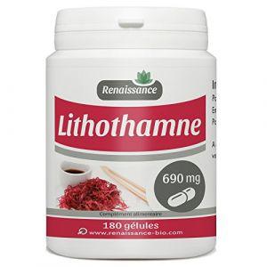 lithothamne - 690 mg - 180 gélules (123PLANTES, neuf)