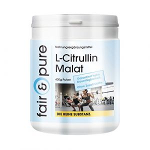 Malate de L-Citrulline - Poudre - 400g - sans additifs (Fair & Pure, neuf)