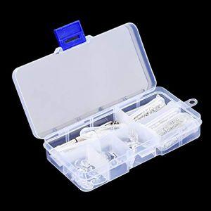 Vis pour lunettes - Lunettes Lunettes Kit de réparation Kit Coussinet de nez Vis Ecrou Outil de réparation Accessoires (Fictory-EU, neuf)