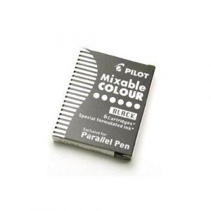 PILOT Lot de 3 Boites de 6 Cartouches d'encre pour stylo Parallel Pen Noir (Stock Bureau Direct, neuf)