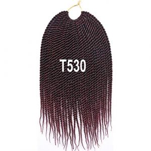 GWSJF Extension de cheveux viscérale noire africaine 14 pouces-2 Fête Costumée Vêtements de Déguisement Costumes (maokushipin, neuf)