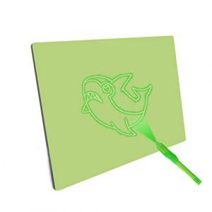 Tableau D'écriture Lumineux Fluorescent - Planche De Dessin pour Le Dessin De Jouet De Dessin Amusant - Dessin Amusant - Planche De Dessin Portable Hi-Tech Big Pack, A5 (Serria, neuf)