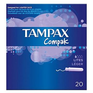 Tampax Compak Lites 20 Tampons (The Marvellous Group, neuf)
