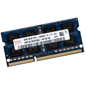 Hynix 4GB DDR3 1333MHz Module de mémoire 4 Go - Modules de mémoire (4 Go, 1 x 4 Go, DDR3, 1333 MHz, 204-pin So-DIMM) (AH.DIREKT, neuf)