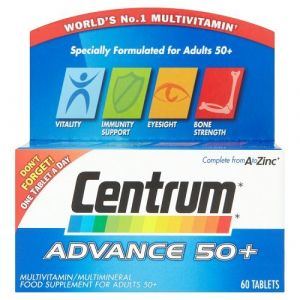 Centrum Advance 50+ Tablets Pack of 60 (Greens Pharmacie, neuf)
