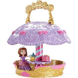 Princesse Sofia - CHJ31 - Mini-poupée - Sofia et sa Montgolfière (Un monde de Jouets, neuf)