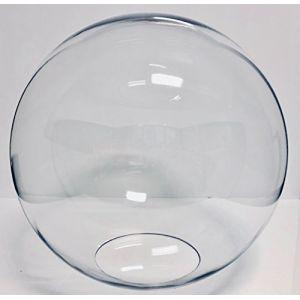 Extrumol Globe lumineux en polycarbonate incolore diamètre 40cm avec entrée de 17cm (EXTRUMOL, neuf)