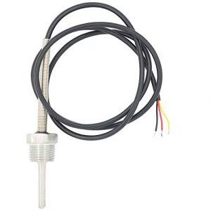 1/2 pollice 6mm Sonde pt100 temperature sensor avec doigt de gant pour sonde thermocouple - 30 50 100 150 200 300 400 500mm (100mm) (HappyParty, neuf)
