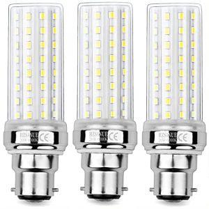 HZSANUE LED Ampoule à Maïs 20W, 150W Équivalent ampoules à Incandescence, B22 LED Baïonnette Ampoules, 6000K Blanc Froid, 2000LM, Pack of 3 (WinnowTe, neuf)