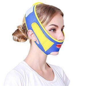 Masque Visage Minceur Mince Bandage Face Lift Up Ceinture Sleeping Mask Face Lift Minceur Massage Visage Shaper Double Menton Bandage (WGDDDMC, neuf)