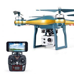 """Serria Drone avec Caméra HD 720P WiFi FPV Helicoptère Télécommandé avec Mode sans Tête, Maintien d'altitude, Quadcopter Drone avec caméra Mini Drone pour l'enfant Facile à diriger (""""""""Saint Valentin's Promotion""""""""Serria, neuf)"""