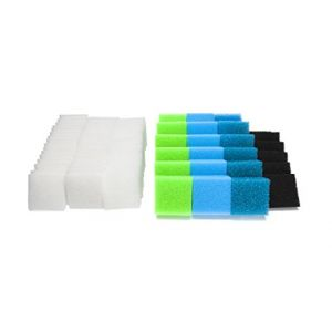 LTWHOME Compatible Eponges Filtres Convient pour Le Juwel Compact/BioFlow 3.0/ M (Lot de 74) (honest-fly, neuf)
